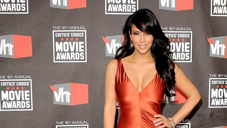 Kim Kardashian Critics Choice Awards