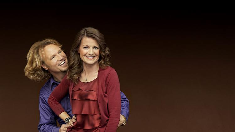 "Kody and Robyn in ""Sister Wives."""