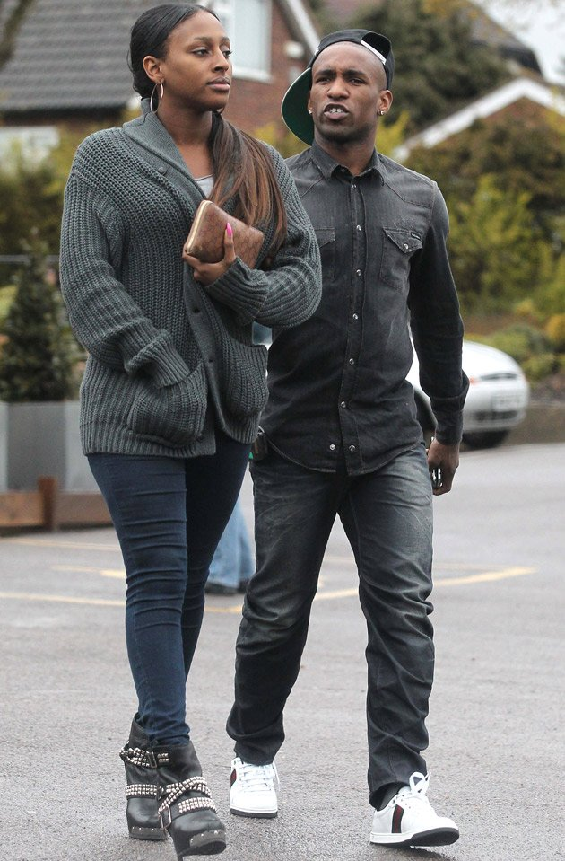 Alexandra Burke Jermain Defoe dumps