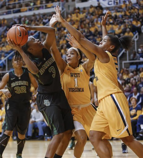 Griner, No. 1 Baylor women beat WVU 80-49