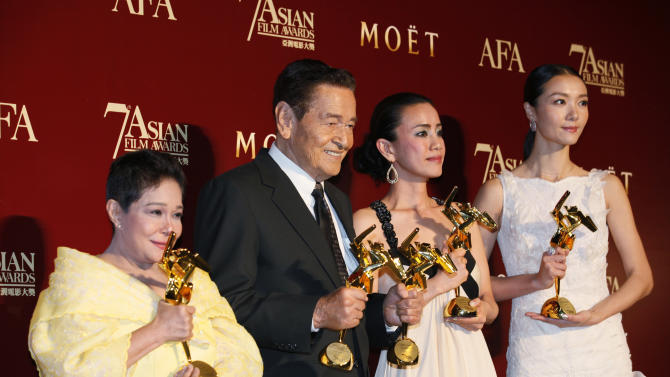 China's 'Mystery' honored at Asian Film Awards