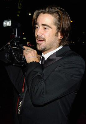 Colin Farrell at the Hollywood premiere of Warner Bros. Alexander