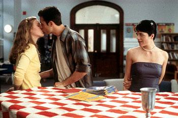Julia Stiles , Freddie Prinze, Jr. and Selma Blair in Miramax's Down To You