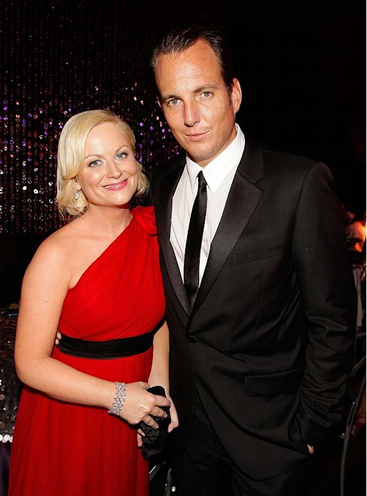 Poehler Arnett Emmy Party