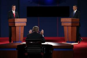 Moderating the Moderator: Candidates Cut Off Jim Lehrer 30 Times During Debate