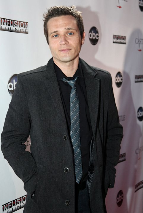"Seamus Dever arrives at the ""Castle"" Season 3 premiere party on September 13, 2010, in Los Angeles."
