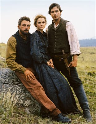 Skeet Ulrich, Keri Russell and Matthew Settle
