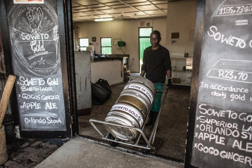 Soweto Gold aims to convert black S.Africans to craft beer