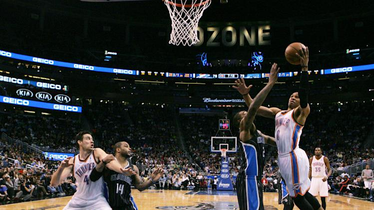 NBA: Oklahoma City Thunder at Orlando Magic