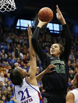 Griner leads No. 1 Baylor past No. 17 Kansas