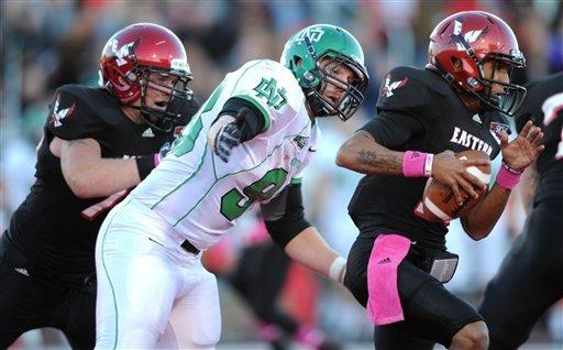 Eastern Washington defeats North Dakota 55-17