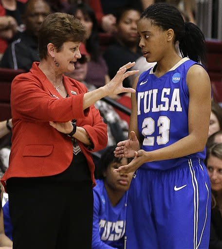 Stanford women need big second half to beat Tulsa