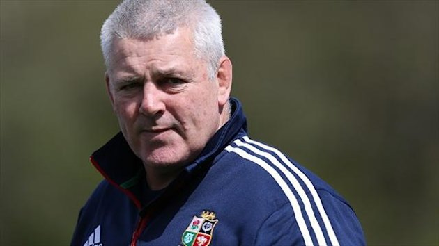 Warren Gatland 'will look at certain combinations, mixing and matching a little bit'