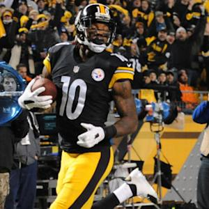 Pittsburgh Steelers wide receiver Martavis Bryant 21-yard TD reception