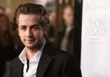 Michael Angarano at the Los Angeles premiere of Warner Independent Pictures' Snow Angeles