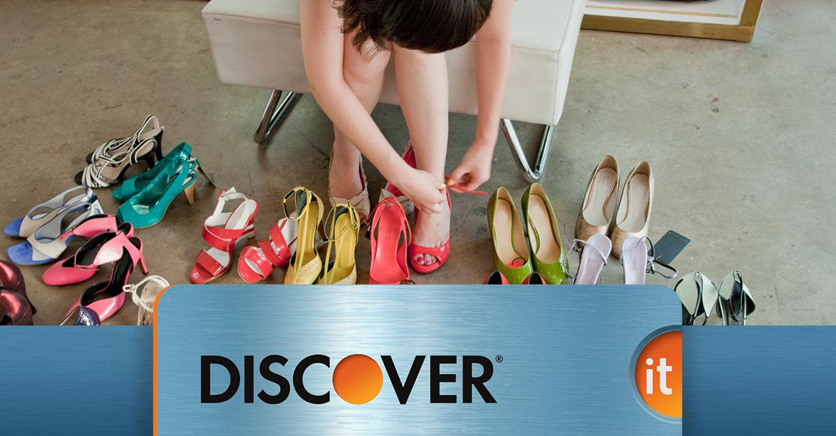 New Discover It  Doubles Your Cash Back*