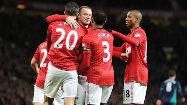 Manchester United claimed a routine win over Sunderland at Old Trafford
