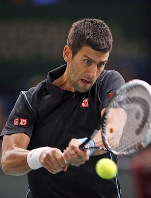 Djokovic beats Wawrinka at Paris Masters