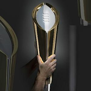 The Big Reveal: College Football Playoff Trophy