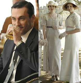 Mad Men Downton Abbey