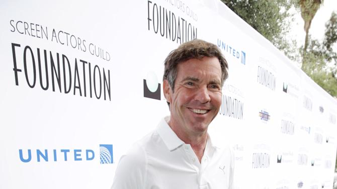 Dennis Quaid at the Screen Actors Guild Foundation 4th Annual Golf Classic Actors Fore Actors, on Monday, June, 10, 2013 in Los Angeles. (Photo by Eric Charbonneau/Invision for SAG Foundation/AP Images)
