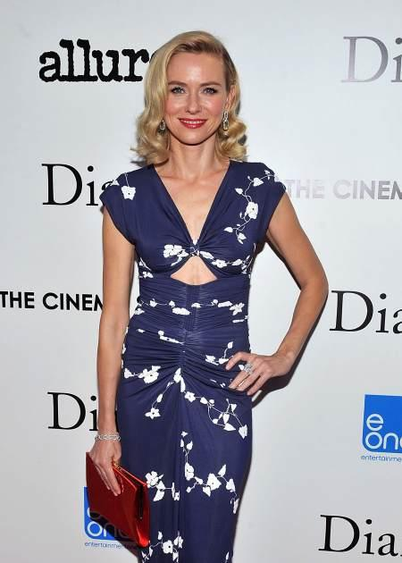 Naomi Watts attends The Cinema Society with Linda Wells & Allure Magazine premiere of Entertainment One's 'Diana' at SVA Theater on October 30, 2013 in New York City -- Getty Images