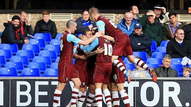 Scott Arfield headed home Kieran Trippier's 80th-minute cross for Burnley