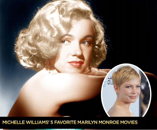 Michelle Williams 5 favorite marilyn monroe movies