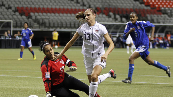 2012 CONCACAF Women's Olympic Qualifying - Dominican Republic v United_States