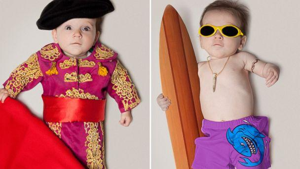 Dad Photographs Baby Girl as Various Future Job Professions