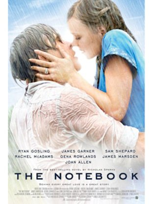 The Notebook is a great movie with an awesome love lesson.