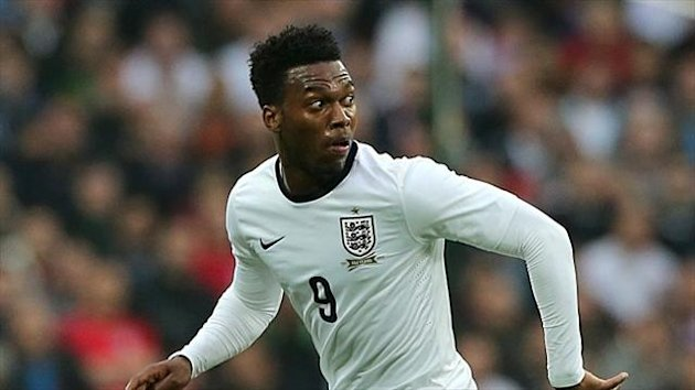 Daniel Sturridge will not be able to lead the line for England in Kiev