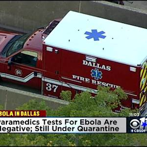 EMS Crew Exposed To Ebola Patient Tests Negative