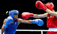 Nicola Adams Makes Olympic Boxing History