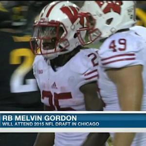 Wisconsin running back Melvin Gordon 'excited' to attend 2015 NFL Draft