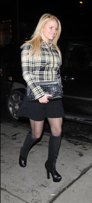 2. Jessica Simpson&amp;#39;s Plaid &amp; Boots