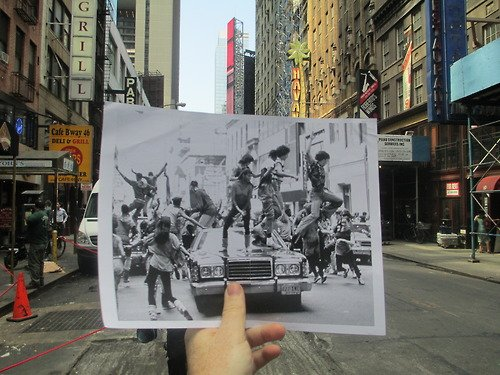 Man Matches Iconic Movie Scenes to Real-Life Locations