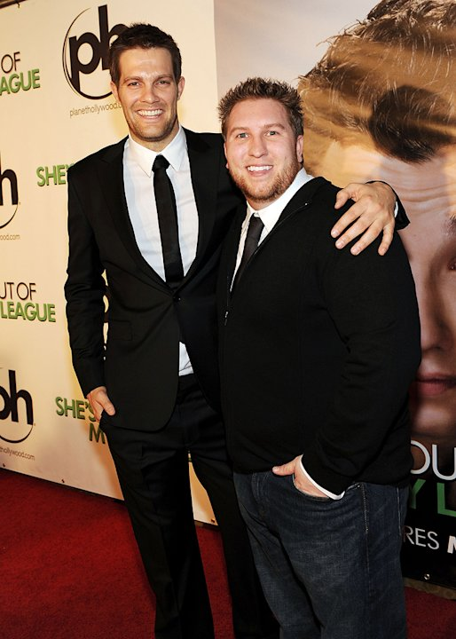 She's Out of My League 2010 Las Vegas Premiere Geoff Stults Nate Torrence