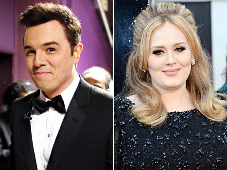 Seth MacFarlane Insults Adele, Melissa McCarthy for Their Weight With Rex Reed Joke at the Oscars