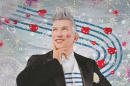 The exhibit of the work of French fashion designer Jean Paul Gaultier will be at the Grand Palais in Paris from April 1 to August 3.