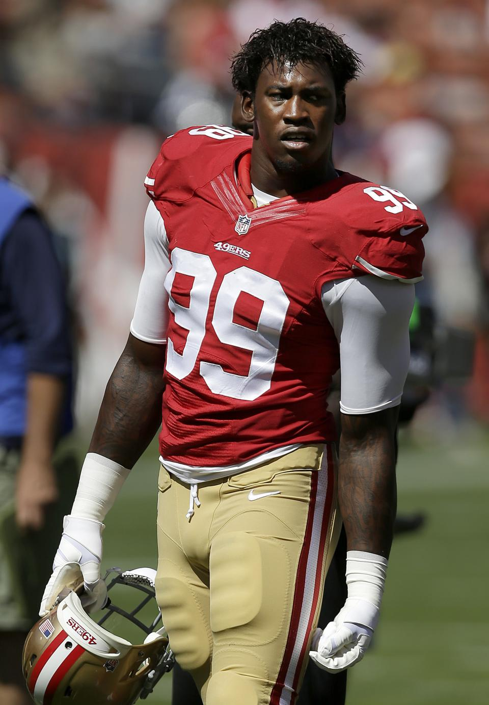 49ers move forward without linebacker Aldon Smith