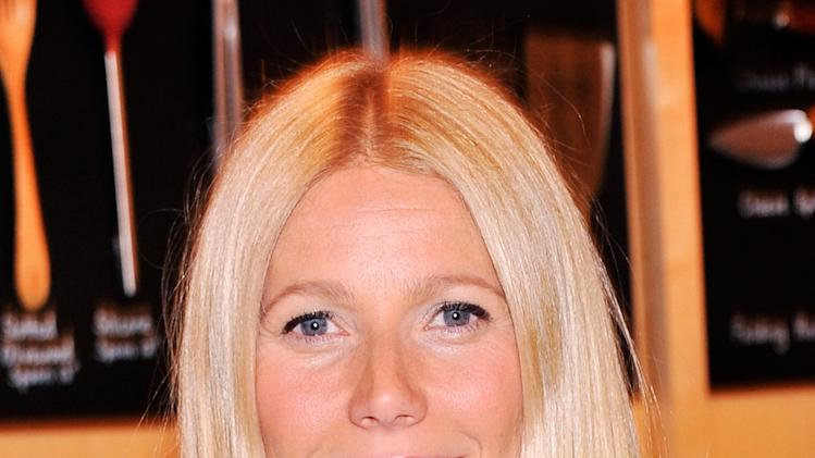 "Gwyneth Paltrow Signs Copies Of Her Book ""It's All Good"""