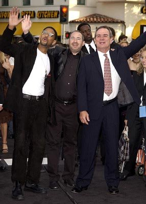 Will Smith , Barry Sonnenfeld and Tommy Lee Jones at the LA premiere of Columbia's Men in Black II