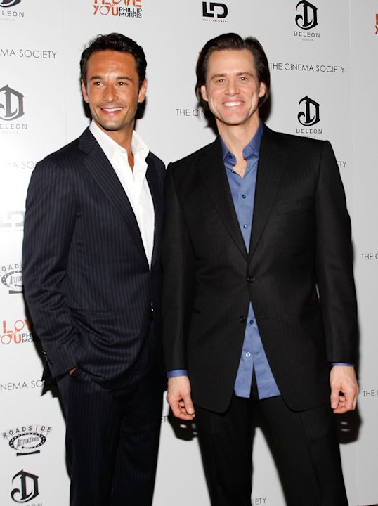 I Love You Phillip Morris NYC Screening 2010 Rodrigo Santoro Jim Carrey