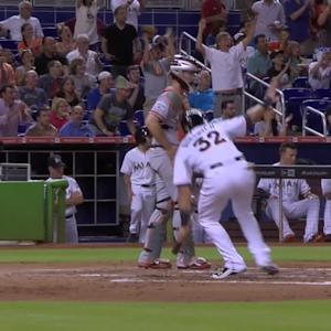 Gordon's inside-the-park homer