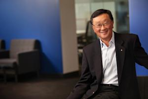 CEO John Chen says BlackBerry isn't giving up on consumers just yet