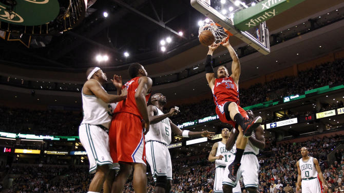 NBA: Los Angeles Clippers at Boston Celtics