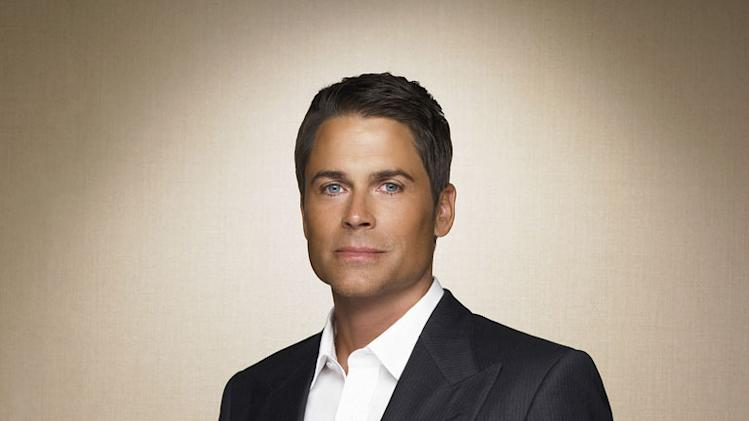 Rob Lowe stars as Senator Robert McCallister on Brothers & Sisters.