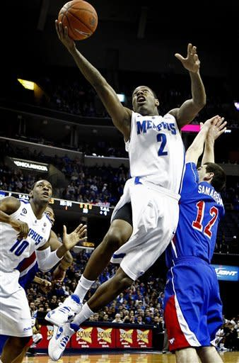 Memphis rallies past Southern Methodist 63-45