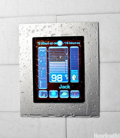 A Programmable Shower